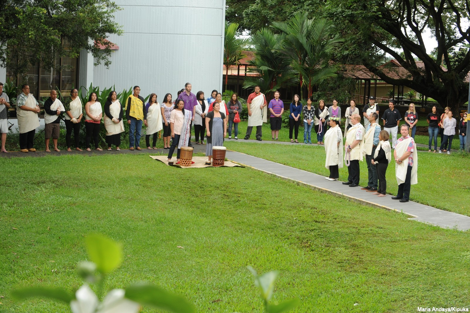 PHOTOS: Kīpaepae Welina Welcome Ceremony for new Vice Chancellor for Student Affairs Farrah-Marie Gomes