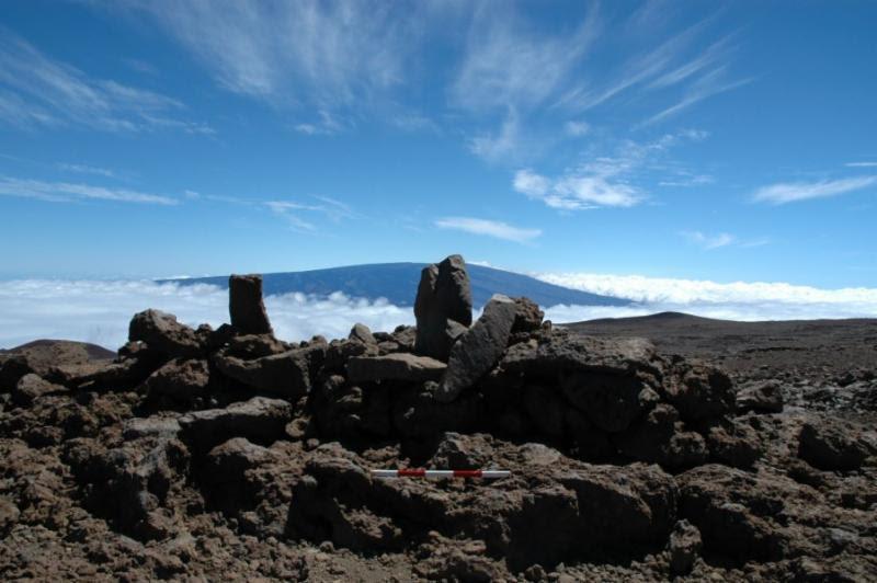 Stones on Maunakea.
