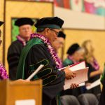 Faculty concluding ceremonies.