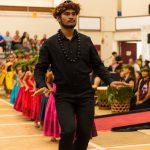 Male dancer in black.