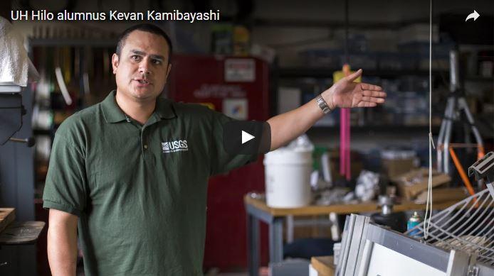 VIDEO: Meet UH Hilo alumnus Kevin Kamibayashi, now chief technician at Hawaiian Volcano Observatory