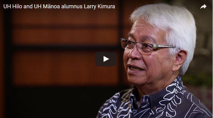 "VIDEO: Larry Kimura, UH Hilo alumnus and ""grandfather"" of Hawaiian language revitalization"
