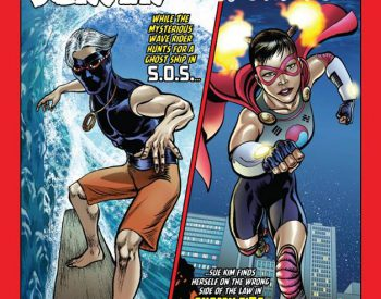 LECTURE:  Chris Caravalho, creator of local comic book superheroes, March 1