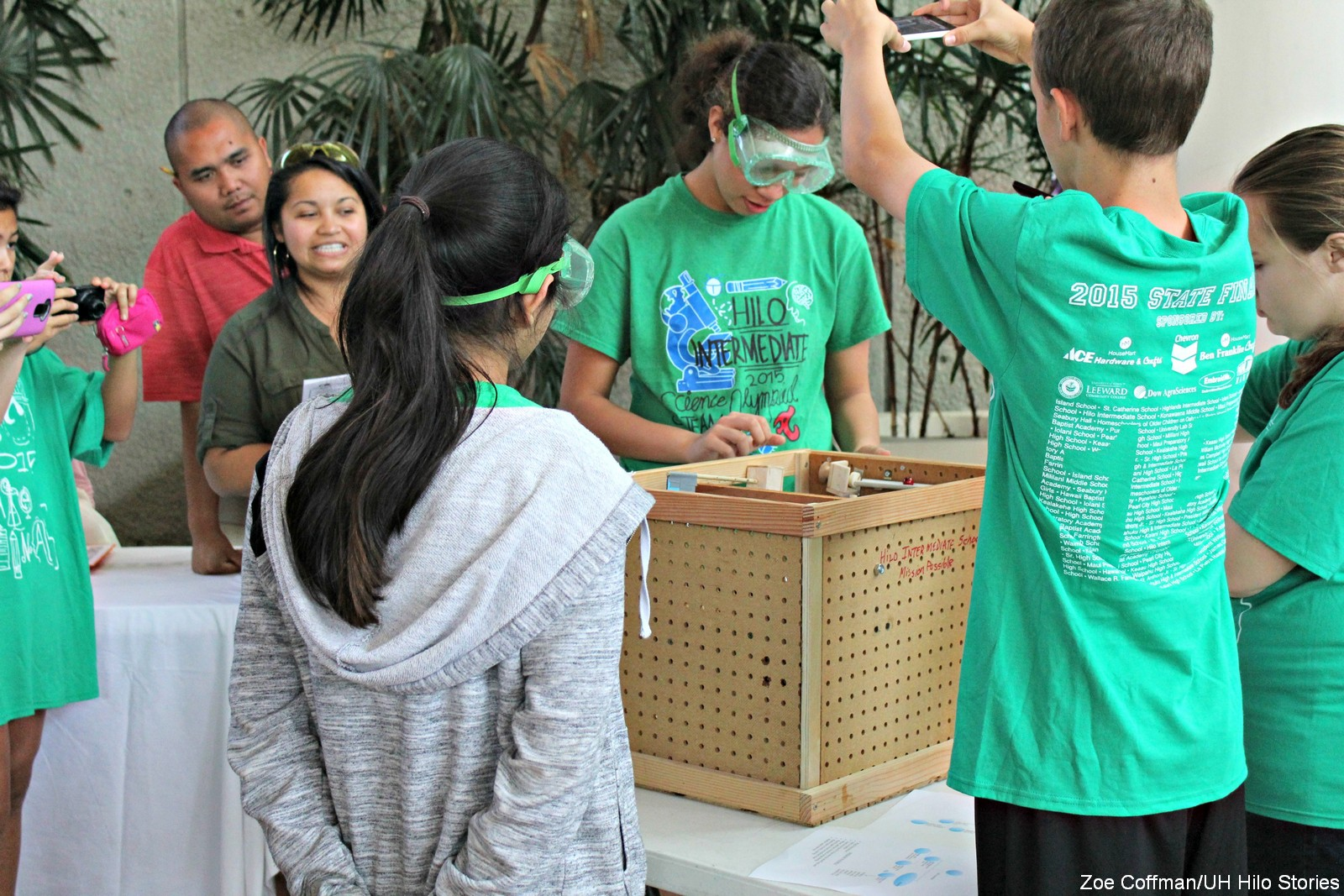 PHOTOS: Future STEM professionals, grades 6-12, compete in Science Olympiad held at UH Hilo
