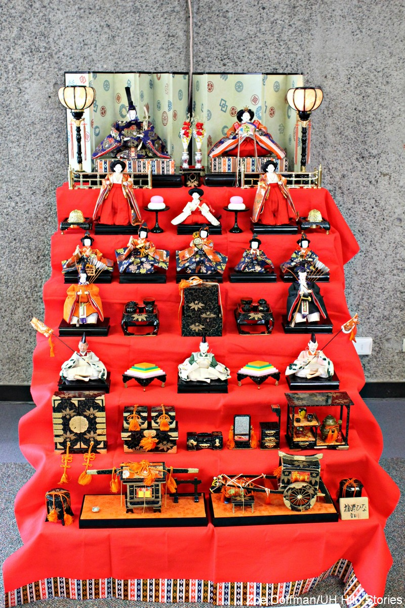 Traditional figures in display.