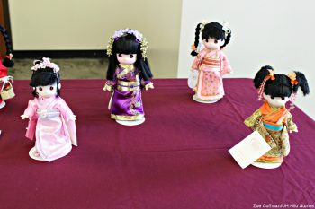 Dolls in traditional clothing.