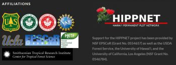 Logos of the various agencies supporting the HIPPNET project.