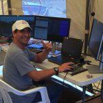 Rodrigo Romo at computer