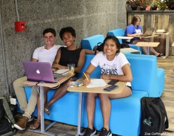 E komo mai! UH Hilo Campus Center Dining Room is transformed into trendy gathering spot