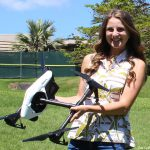 UH Hilo graduate student wins award for her research using unmanned aerial systems