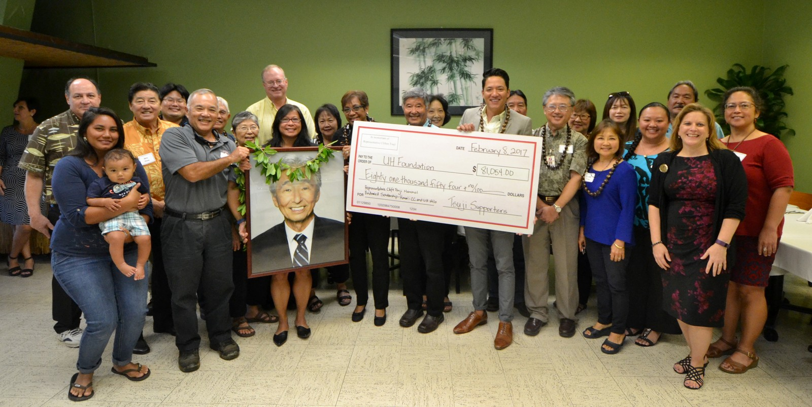 UH scholarships honor the late Rep  Clift Tsuji's