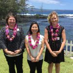 Four UH Hilo students receive scholarships from the American Association of University Women---Hilo Branch