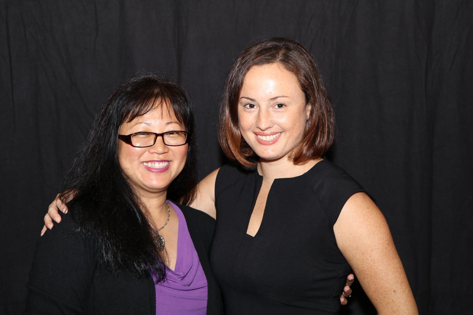 Claire Akau & Lara Hughes
