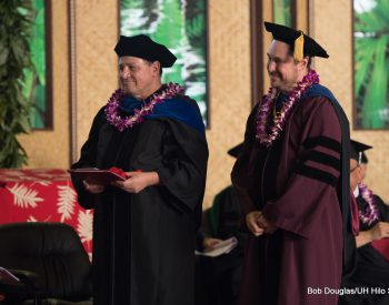 Three UH Hilo faculty members honored with excellence in teaching awards