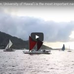 "Hōkūleʻa comes home, UH recognized as ""the most important navigator"""