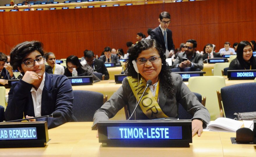 UH Hilo senior Josefina Pereira represents Timor-Leste at 14th Annual International Human Rights Summit, New York