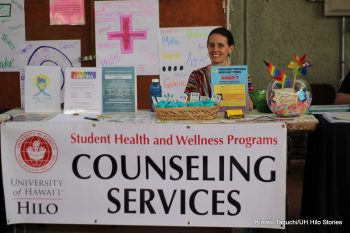 Counseling Services table.