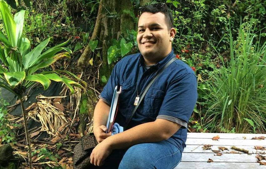 UH Hilo student from Marshall Islands creates performance art about rising sea levels in his homeland