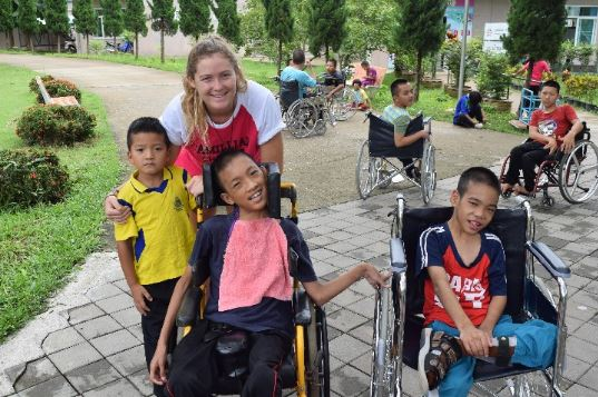 UH Hilo student Trixie Croad spent summer backpacking in Asia, volunteering at charity in Thailand