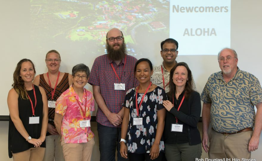 UH Hilo welcomes new faculty and staff