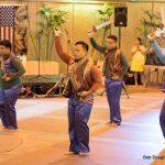 Male dancers.