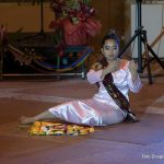 Solo female dancer in traditional Philippine attire.