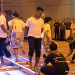 Group doing tinikling.