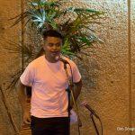 Man at mic