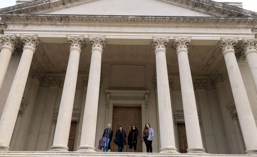 Four UH Hilo English majors present research papers at conference in Rome, Italy