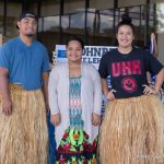 Students at Pohnpei display
