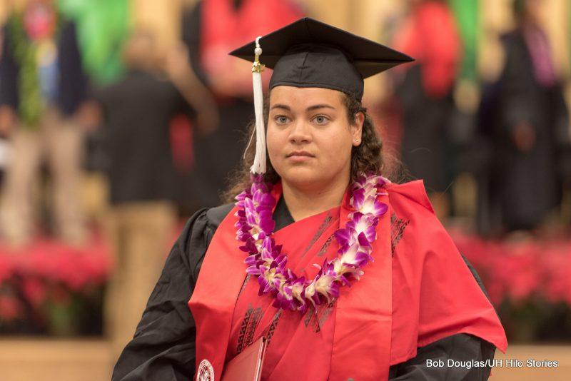 Student speaker Anne Rivera.