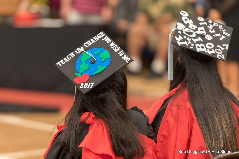 Message on Mortarboard