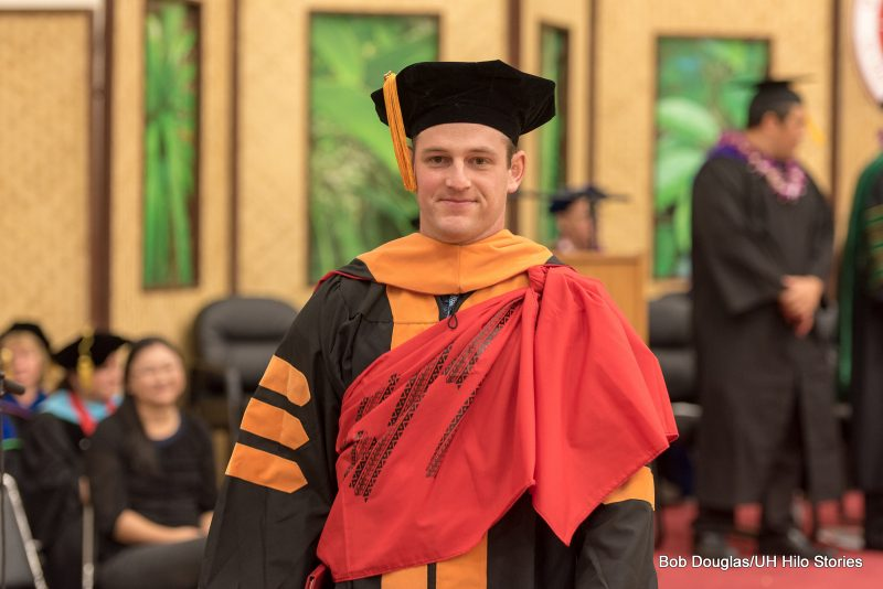 Doctoral degree recipient.