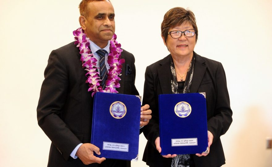 UH Hilo enters into agreement with Bangladesh maritime university