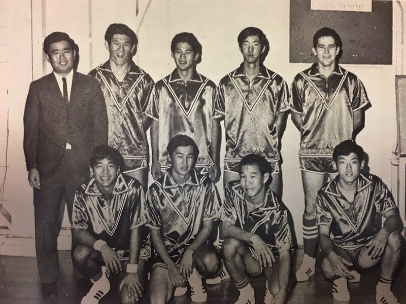 Vulcan basketball team circa 1970.