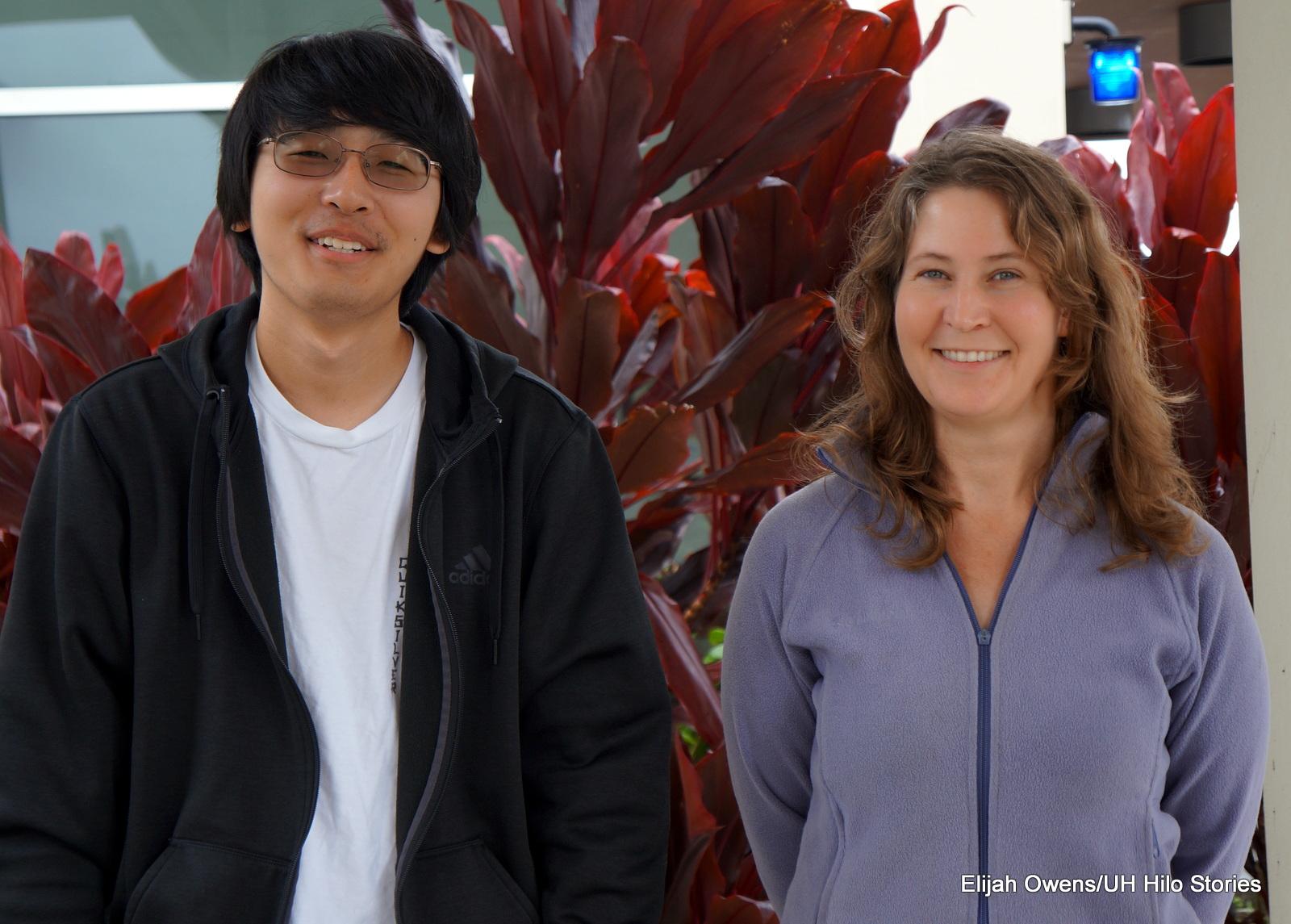 David Arakawa and Renee Bellinger.