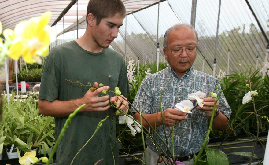 Floriculturist and botanist Bill Sakai retires