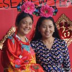 Two women in traditional Chinese attire