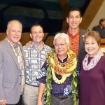 Two UH Hilo Hawaiian language leaders honored by the State Legislature