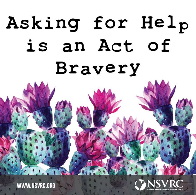 """""""Asking for help is an Act of Bravery"""""""
