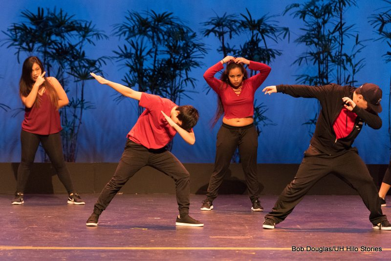 Hip hop dancers.