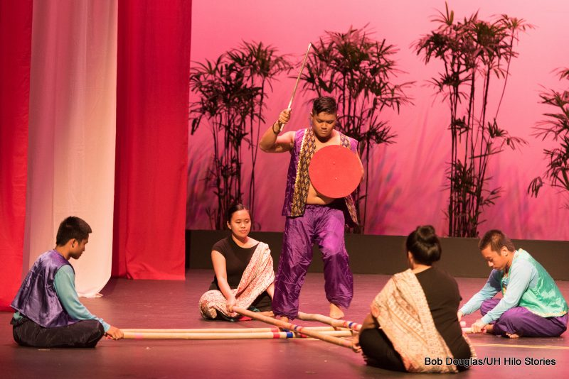 Tinikling, solo male.