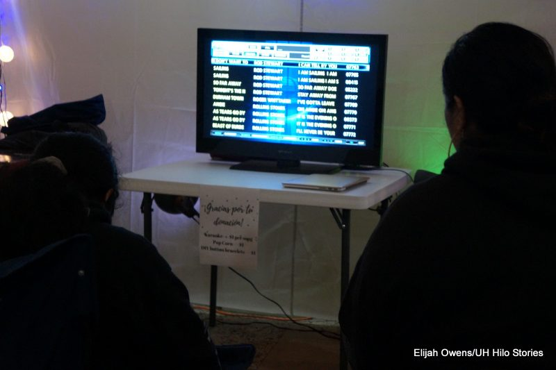 Students playing on a computer screen.