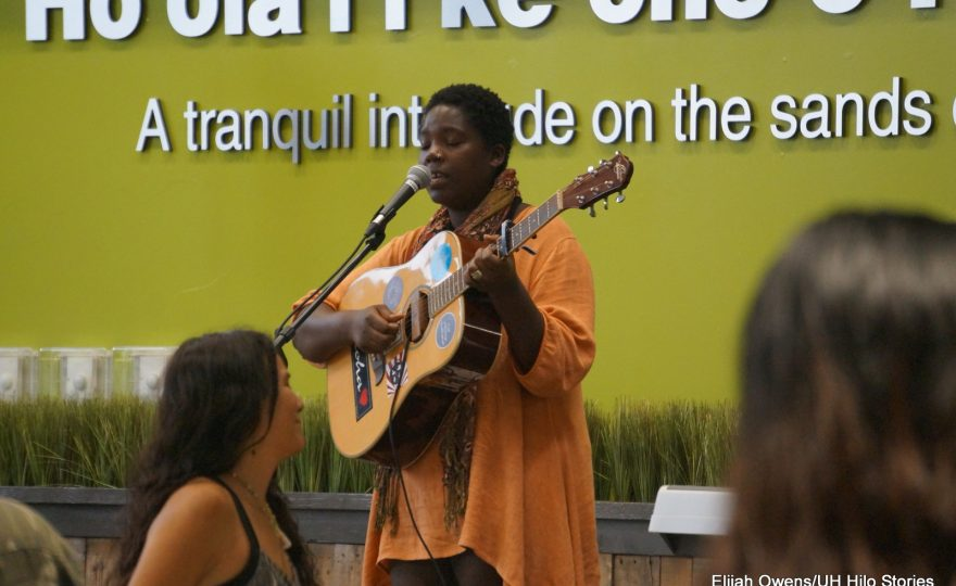 "PHOTOS: Poets, spoken word artists, and musicians perform at UH Hilo ""Soul Food 4 Thought"" event"