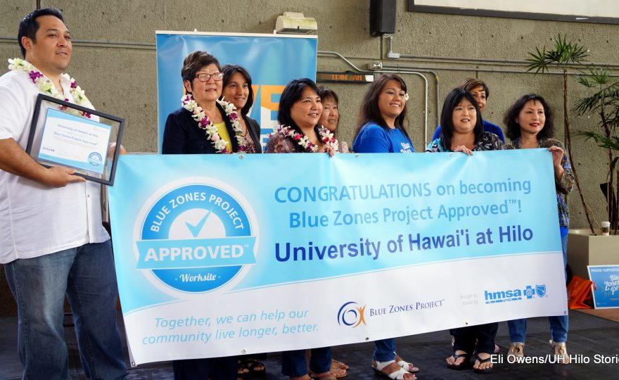 UH Hilo receives Blue Zones status; university part of nationwide program to promote healthy living