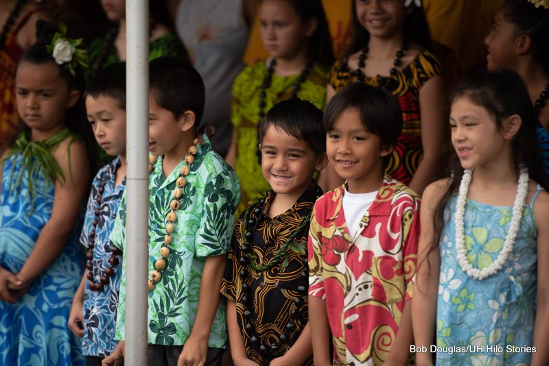 Keiki in group.