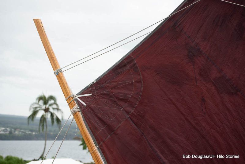 Sail and rigging.