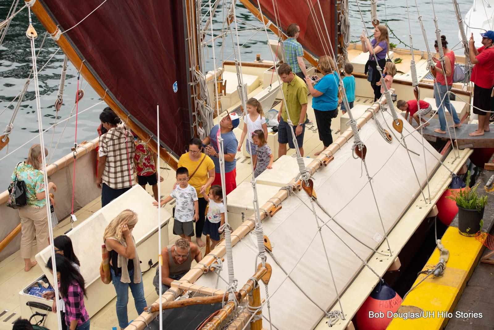 PHOTO ESSAY: Hōkūle'a visits Hilo; UH Hilo co-sponsors educational expo