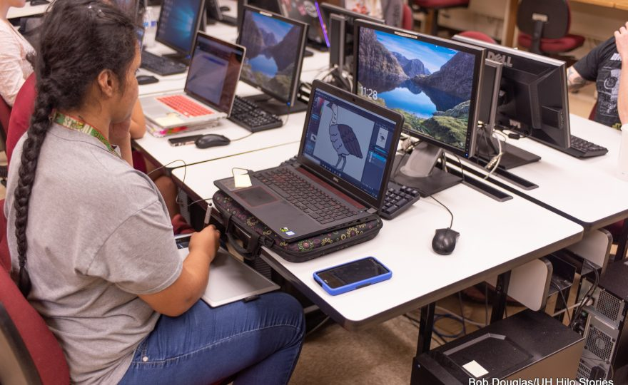 UH Hilo students learn data visualization techniques to promote public awareness of environmental issues