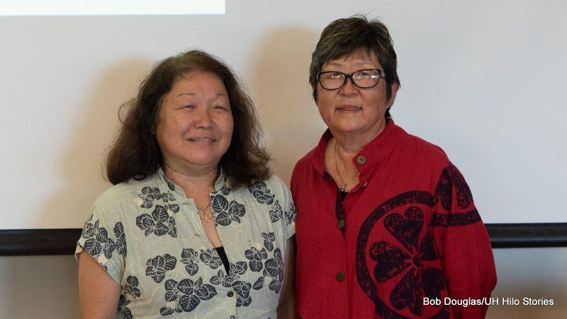Tammy Tanaka and Marcia Sakai.
